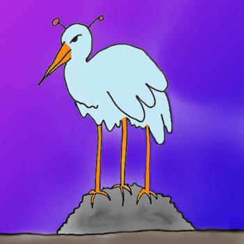 Blentonic Rock Stork